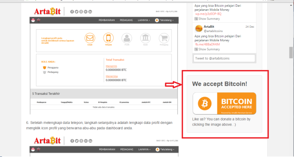 Accept Bitcoin in your Blog using Your own Widget.